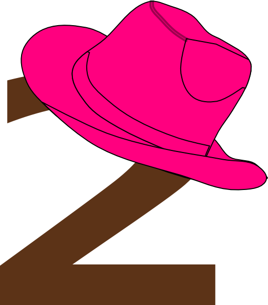 Cowboy hatwboy boot and hat clip art at vector image 3