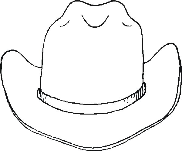 Cowboy hatwboy boot and hat clip art at vector image 4