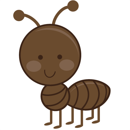 Cute ant clipart kid 5