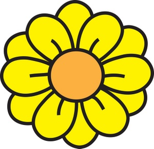 Daisy flower clipart kid 2