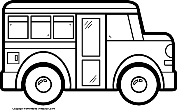 Free school bus clipart 2