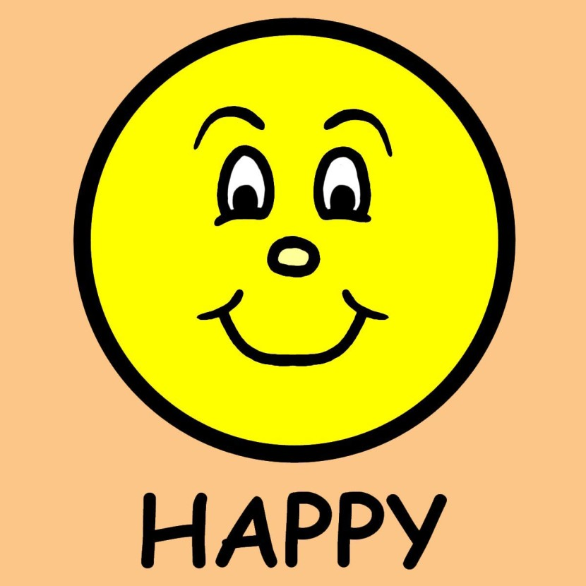 Happy person clipart 2