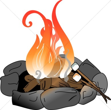 Image of campfire clip art 4 cartoon clipart free