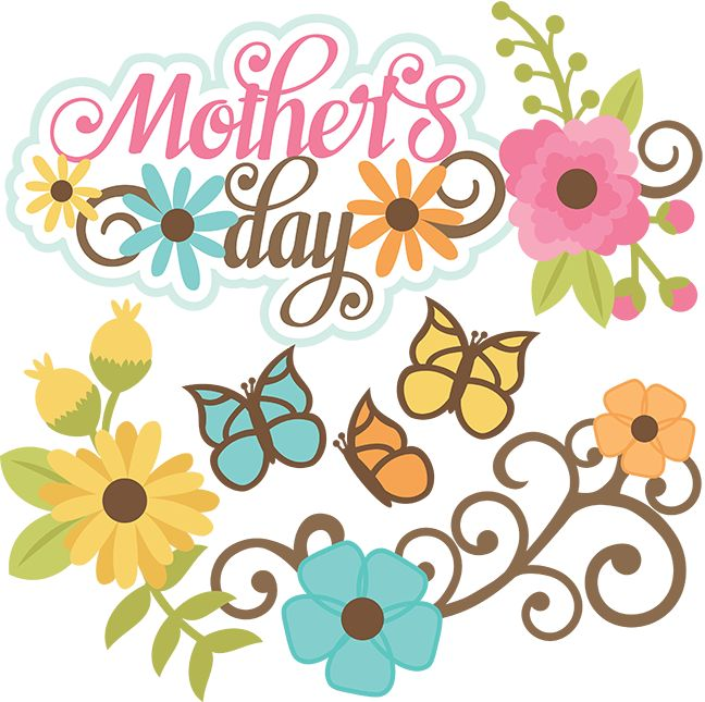 Mothers day happy mother clip art