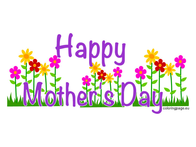 Mothers day mother clipart