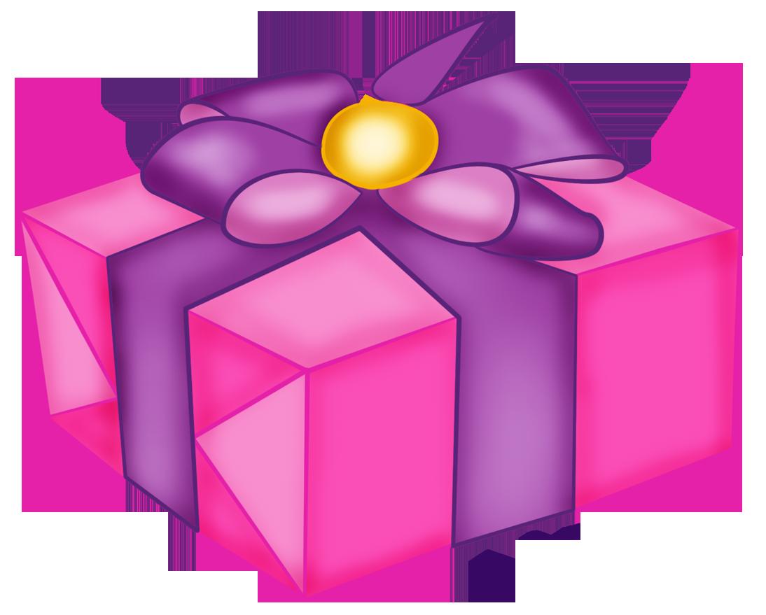 Present clipart pink es image