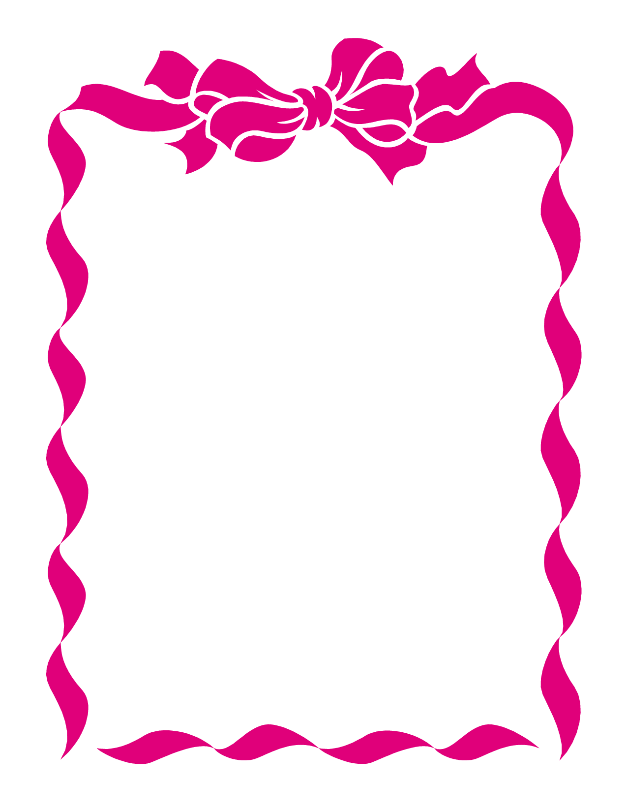 Printable breast cancer ribbon clipart