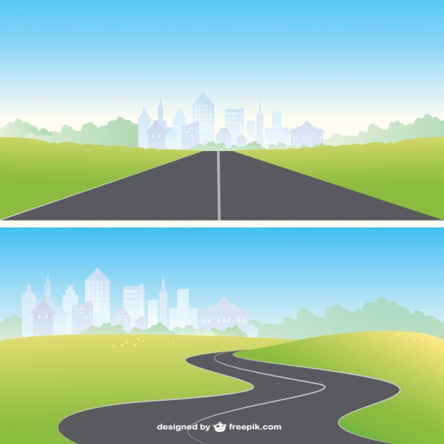 Road vectors photos and psd files free download clipart