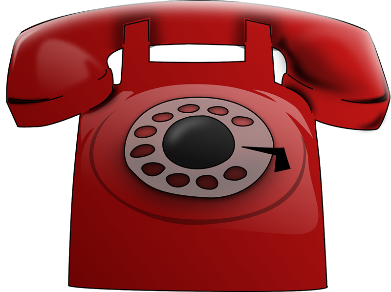 Telephone free to use clip art