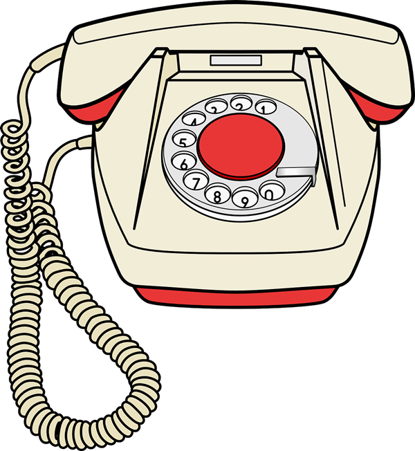 Telephone free to use clipart 2