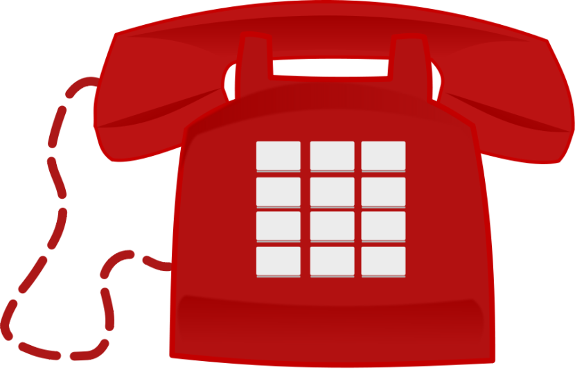 Telephone phone clipart