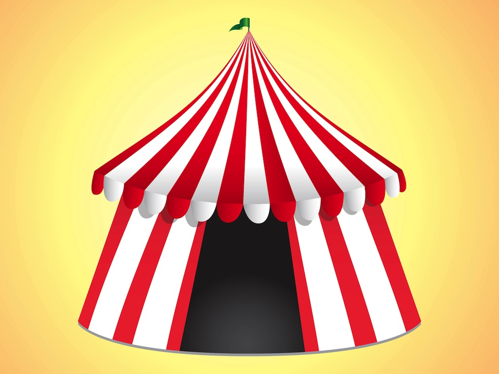Circus tent clipart hostted
