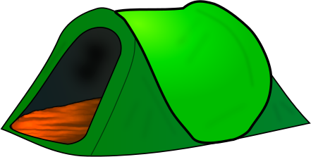 Clip art tents craft projects holidays clipart clipartoons