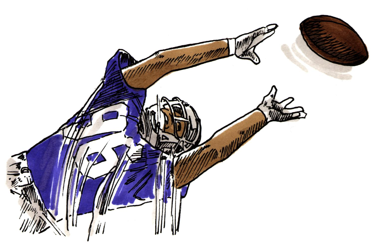Football player clip art football image clipartix 2