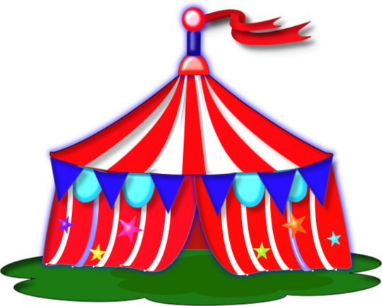 Free circus tent clip art clipart to use resource