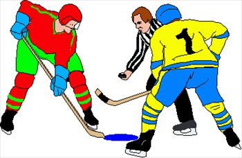 Free ice hockey clipart graphics images and photos