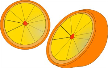 Free oranges clipart graphics images and photos