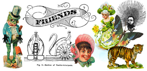 Free vintage images and clip art for crafts