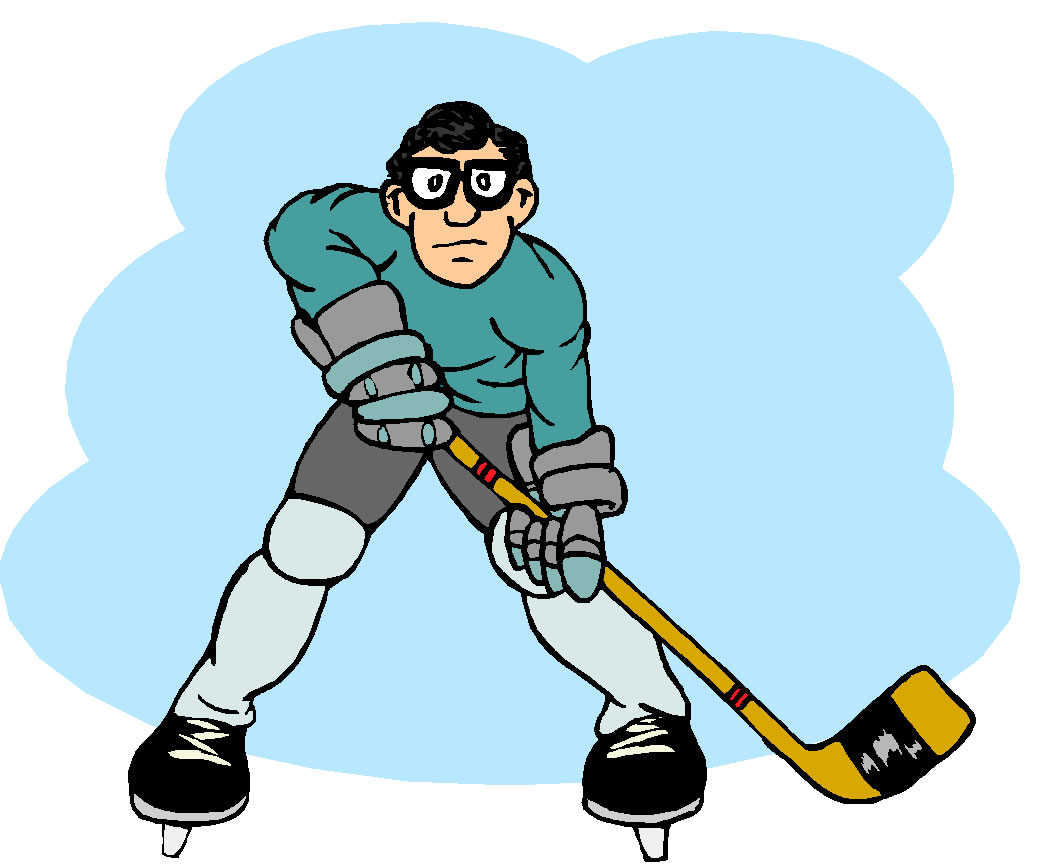 Girl ice hockey clipart kid 2