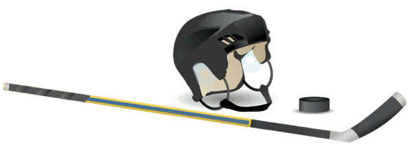 Hockey clipart and animations 3