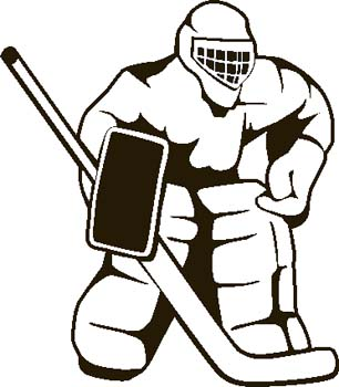 Hockey clipart kid 2