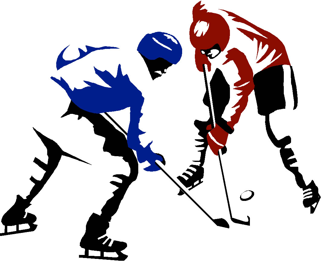 Hockey clipart kid