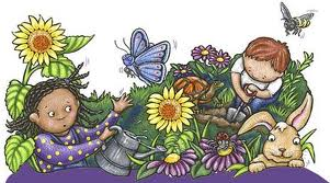 Photos ofmunity garden clip art kids