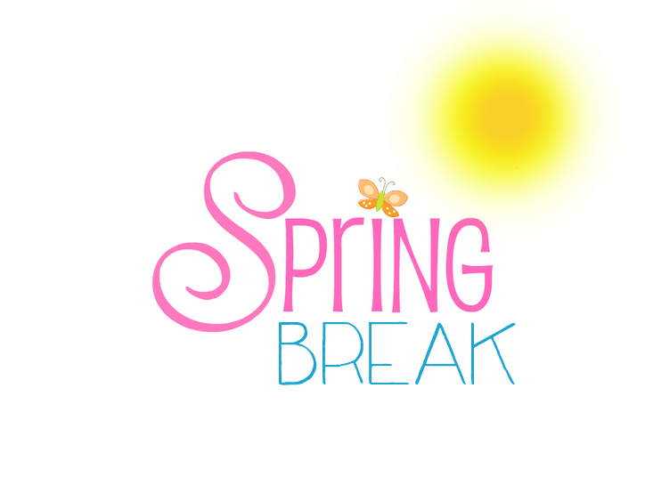 Spring break clipart kid 2