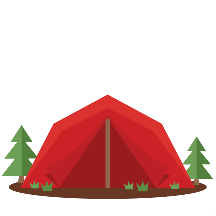 Tent svg scrapbook cut file cute clipart files for silhouette