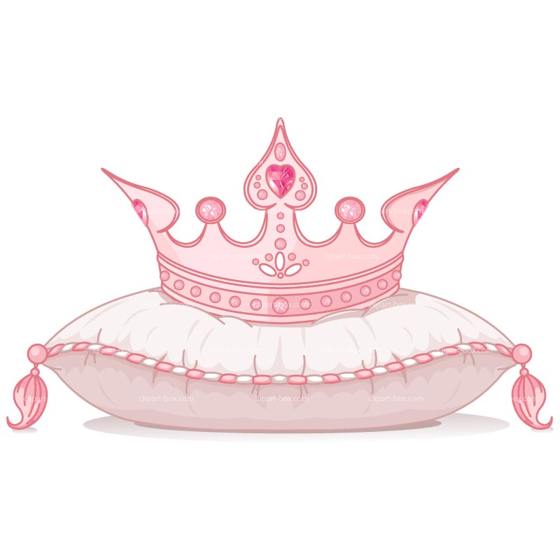 Tiara pink and gold crown clipart kid