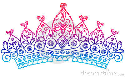 Tiaras and crowns clipart