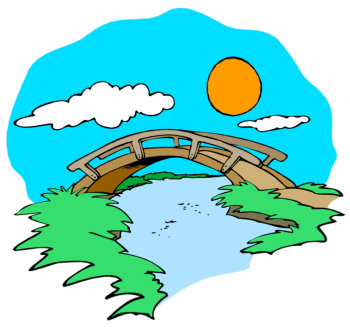 Cartoon bridge clipart kid