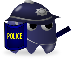 Cartoon police clip art high quality