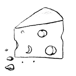 Cheese clipart black and white free images