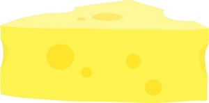 Cheese clipart image a loaf of french bread with chunk