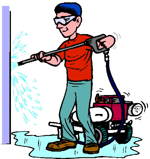 Clip art of cleaning walls clipart kid