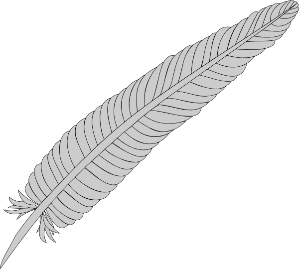Feather clipart free images clipartcow clipartix