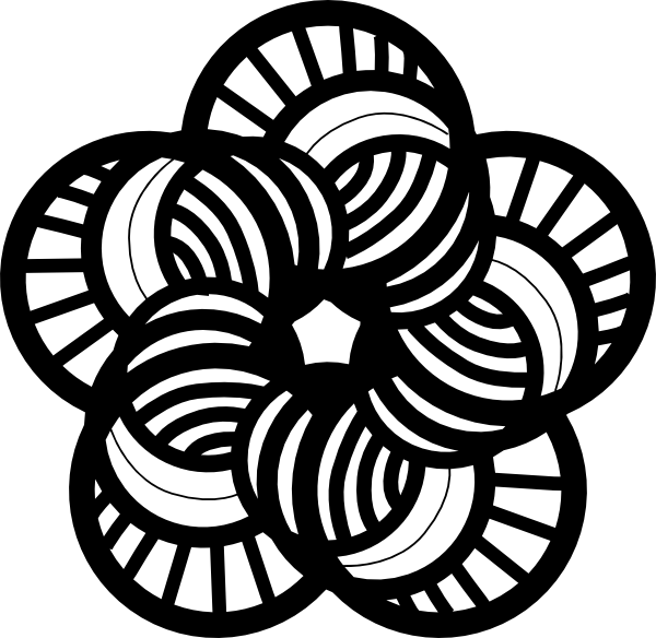 Flower  black and white cute flower black and white clipart kid 3