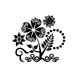 Flower  black and white flower black and white flower clipart 2 clipartix