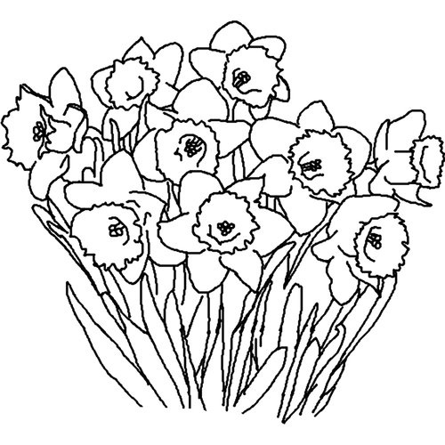 Flower  black and white flower clipart black and white free download happy birthday 3