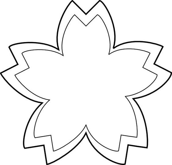 Flower  black and white flower outline clipart black and white clipart on