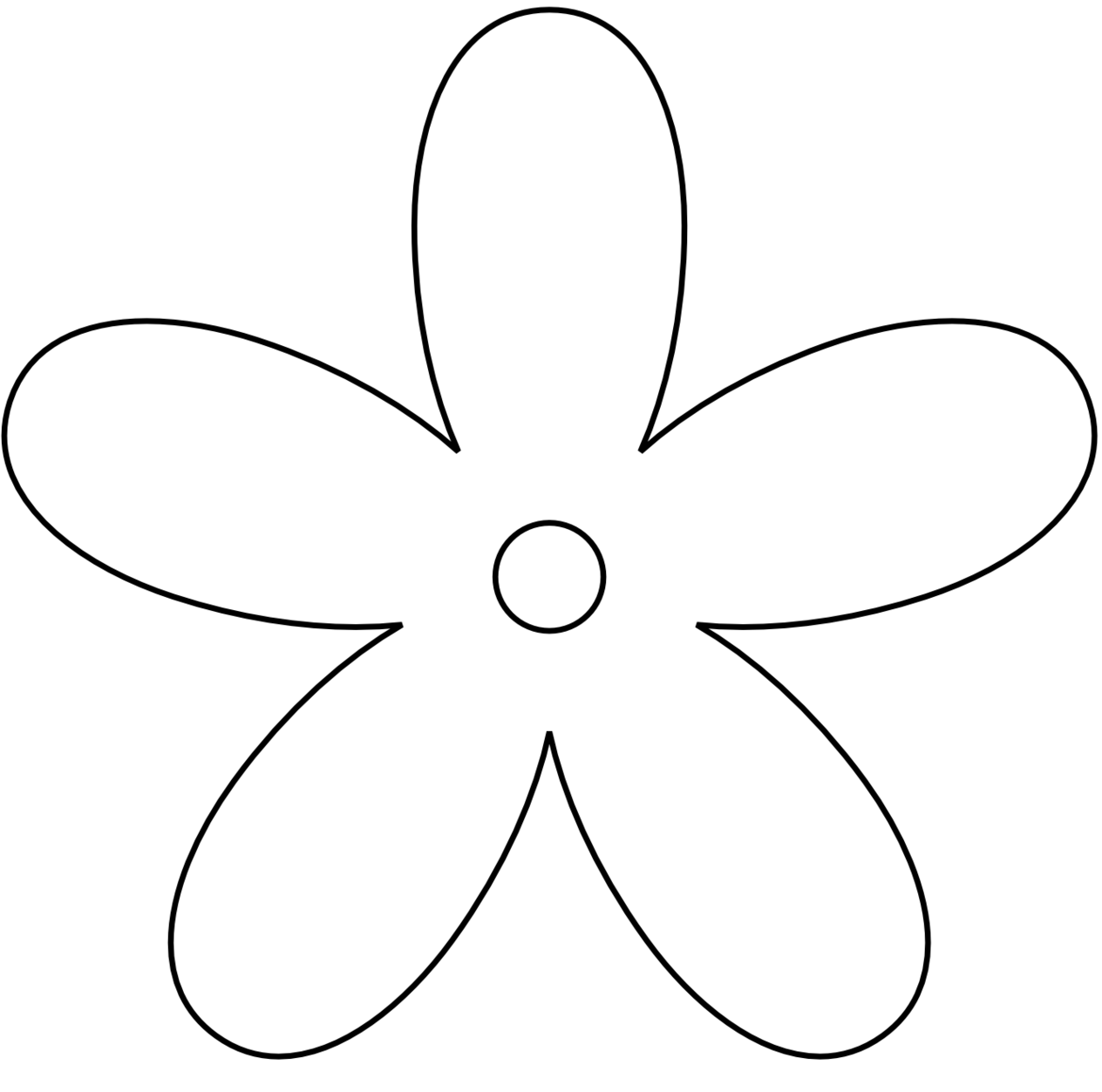 Flower  black and white flowers clip art black and white clipart free to use