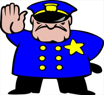 Free police clipart graphics images and photos