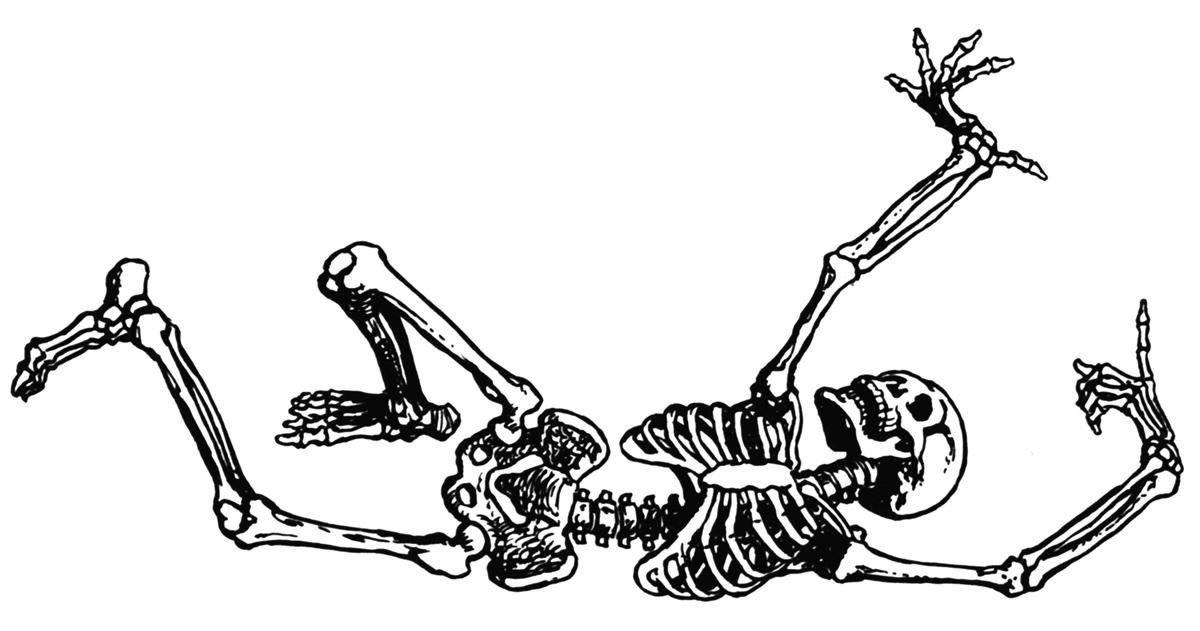 Free skeleton clipart public domain halloween clip art images