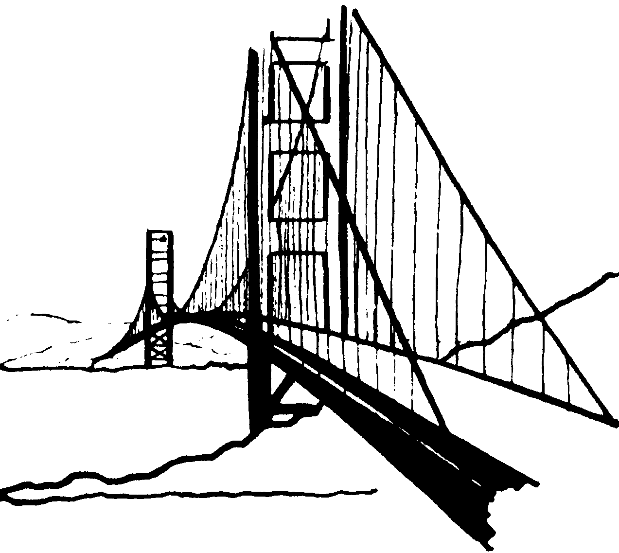 Golden gate bridge clipart kid 2