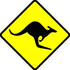 Kangaroo clipart 11
