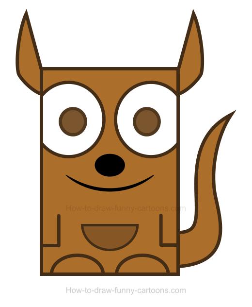 Kangaroo clipart 6