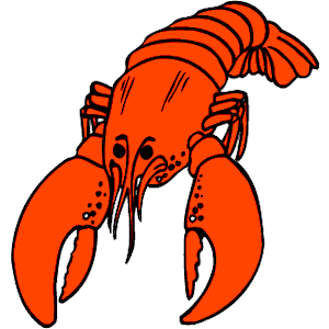 Lobster clipart 4