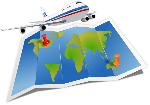 Plane travel clipart clipartfest