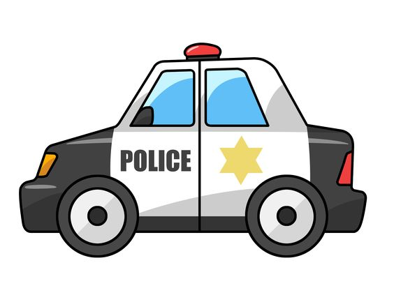 Police cars and clip art on